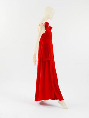 Yohji Yamamoto avant-garde dress