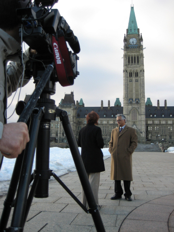 Parliament Hill interview