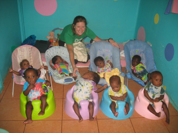 Abbie Smith in Uganda