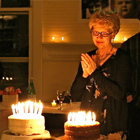 70 candles