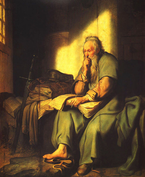 The Apostle Paul in Prison