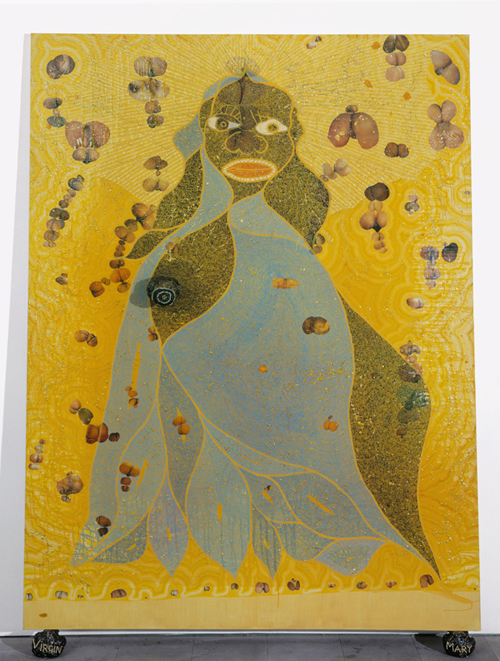 Chris Ofili, The Holy Virgin Mary