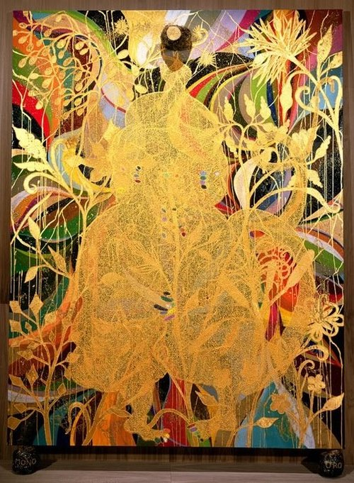 Chris Ofili, The Upper Room