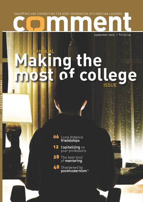 Comment Magazine - Making the most of college (fourth annual)