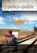 Policy in Public - 2011 Federal Election