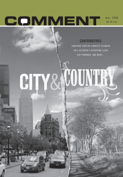 Comment Magazine - City & country