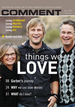 Comment Magazine - Things we love
