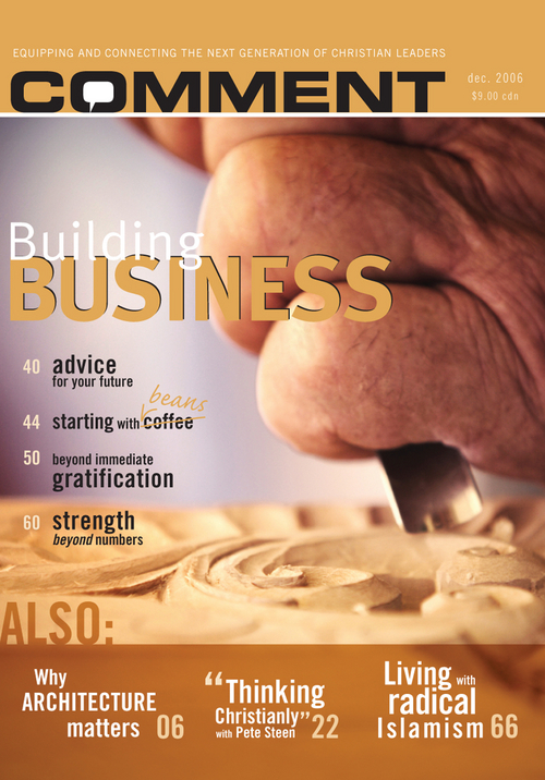 Comment Magazine - Building business