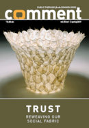 Trust: Reweaving Our Social Fabric
