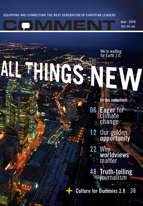 Comment Magazine - All things new