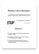 Buying a Labour Monopoly?